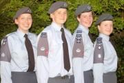 Windermere Air Cadets are all smiles after a summer of achievement