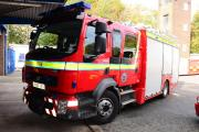 Firefighters called to car on fire at Milnthorpe garage